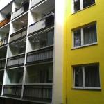 BD ul. PLEVOVA 3, Brno -oprava a nátěr klempířských prvků, nová hydroizolace, oprava omítek vnějších stěn fasády, penetrace a nátěr fasády